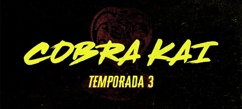 Cobra Kai Temorada 3 logo