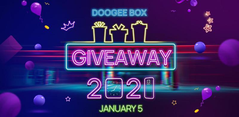 DOOGEE S59 PRO caja misteriosa regalo