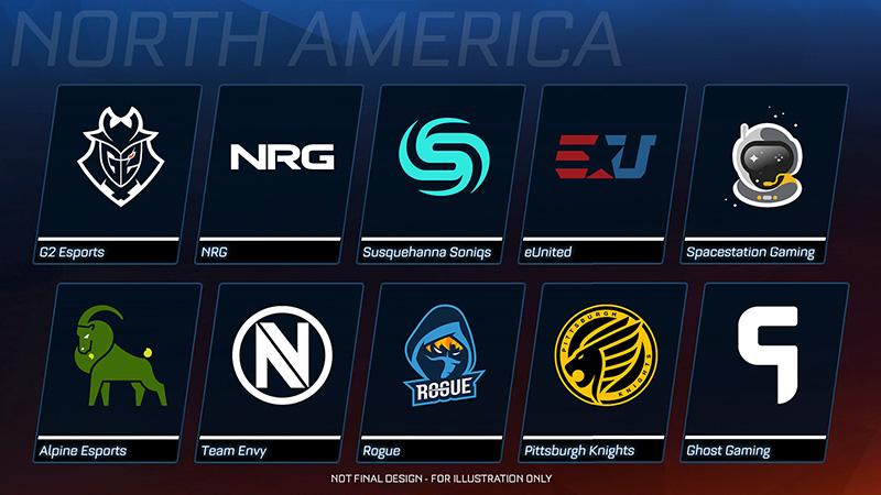 Equipos-Tienda-de-Esports-Rocket-League