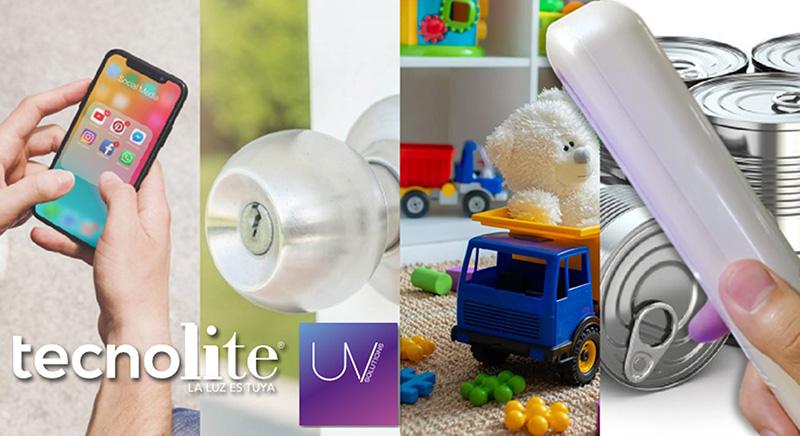 Esterilizador Portatil UV de Tecnolite objetos