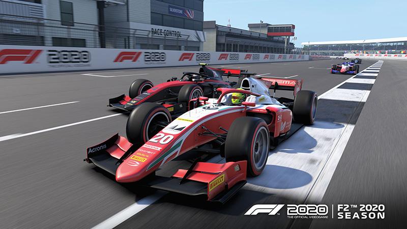 El campeonato de la Formula 2 ya se corre en el juego F1 2020