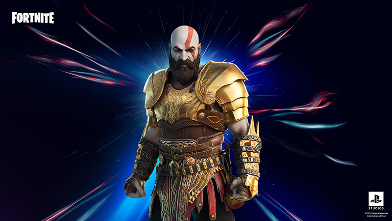 Fortnite Kratos PS5