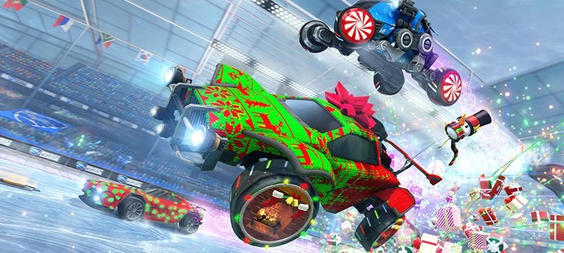 Frosty Fest Rocket League autos