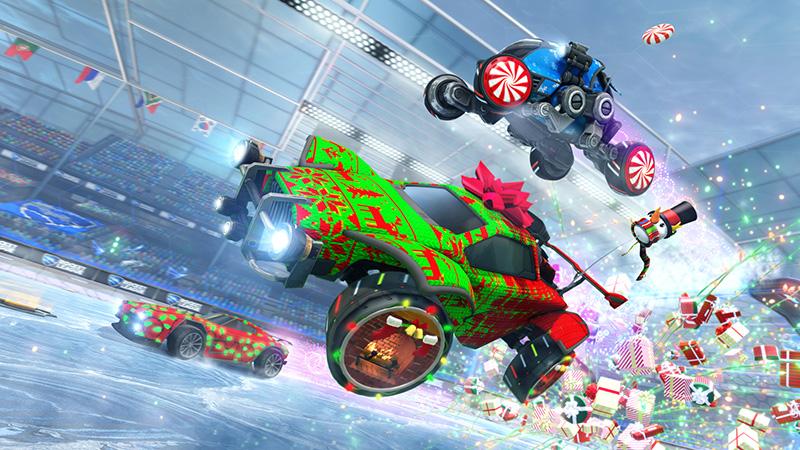 El 14 de diciembre regresa Frosty Fest a Rocket League