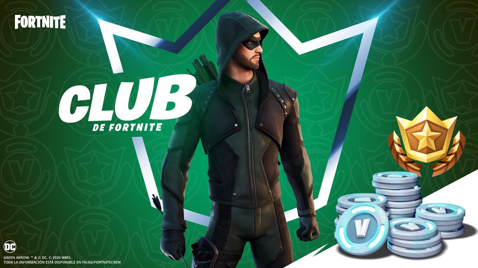 Green Arrow Club de Fortnite