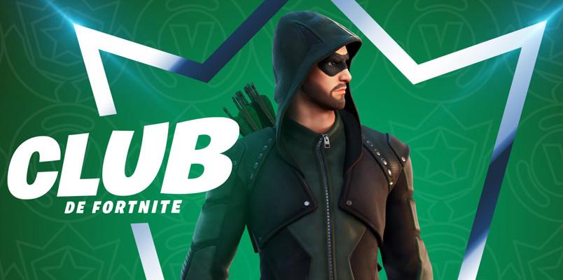 Green Arrow será el atuendo que incluya el Club de Fortnite