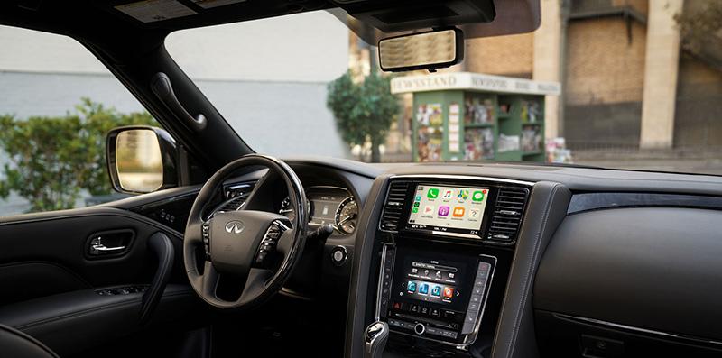 Infiniti Q50 HEV y QX80 compatibles con AT&T Auto Conectado