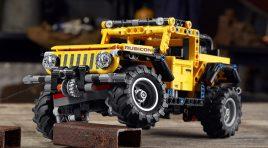 LEGO se une a Jeep para sacar el LEGO Technic Jeep Wrangler