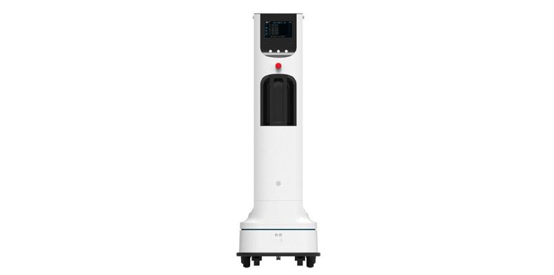 Este es el robot UV de LG que desinfecta áreas de alto contacto