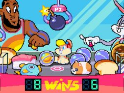 LeBron James Space Jam 2 juego arcade disena