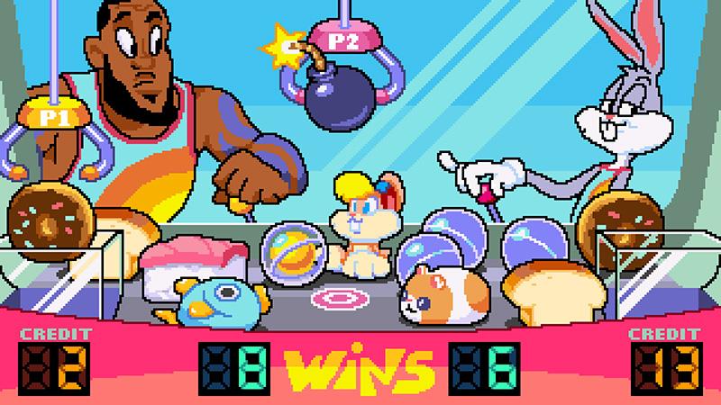 Con ayuda de LeBron James crea el juego de Space Jam 2