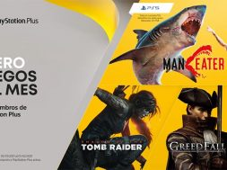 PS Plus Maneater y Shadow of the Tomb Raider