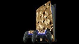 Así es la PlayStation 5 Golden Rock creada con 20 kilogramos de oro