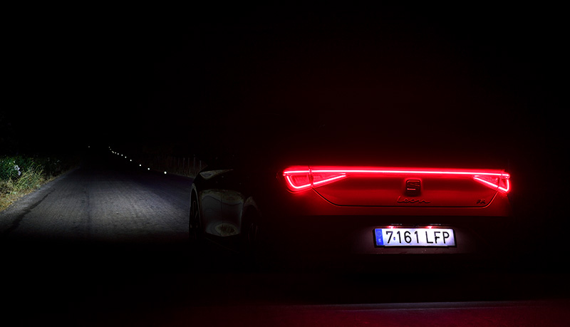 SEAT Leon LED trasera