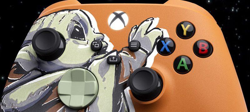The Mandalorian Xbox Controller Baby Yoda