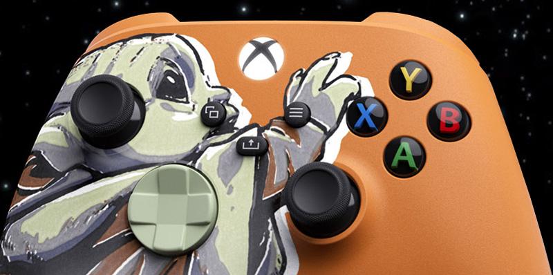 Los controles de The Mandalorian para Xbox Series X | S