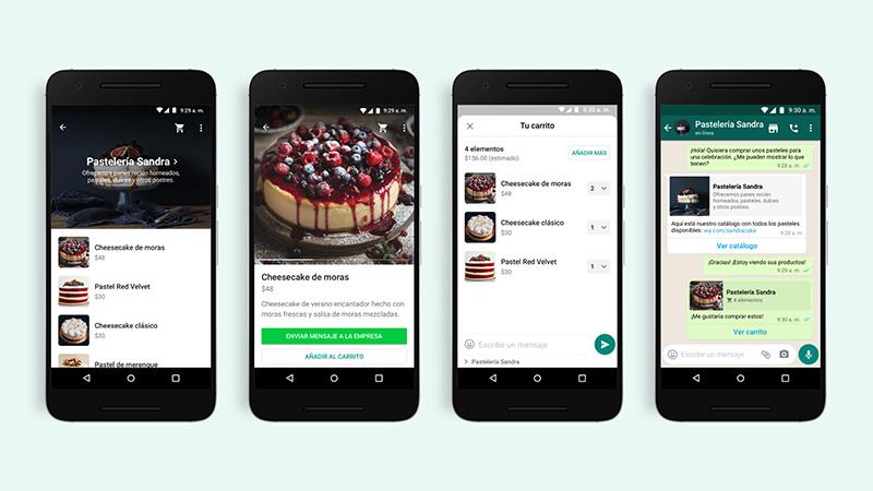 WhatsApp presenta los Carritos para que puedas comprar productos