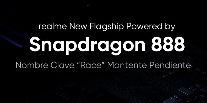 realme Race será de los primeros smartphones con Snapdragon 888