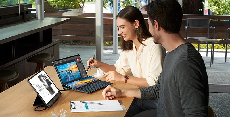 ASUS ZenBook Duo 14 UX482 CES 2021