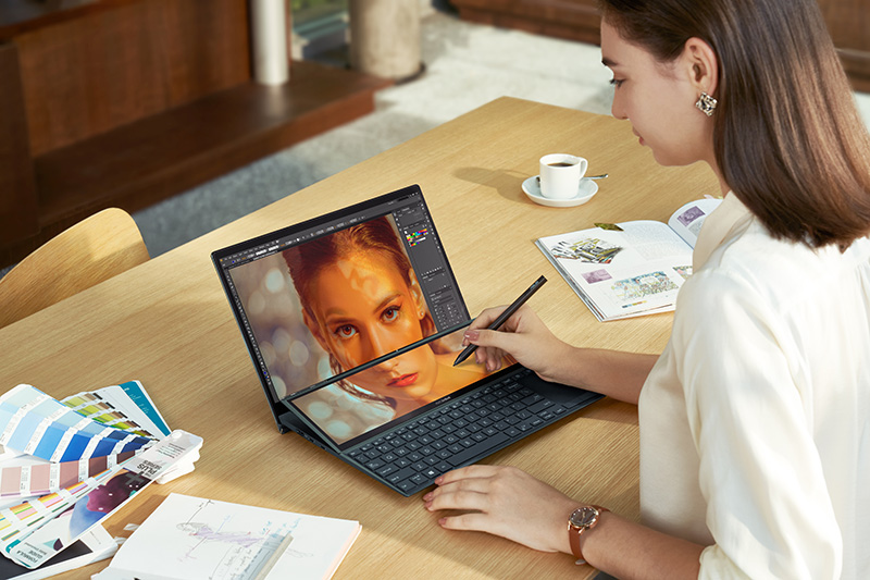 ASUS ZenBook Duo 14 UX482 multimedia