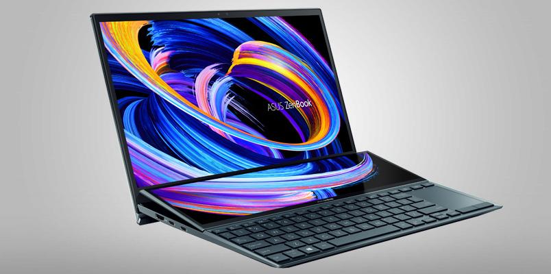Conoce las características de la nueva ASUS ZenBook Duo 14 UX482