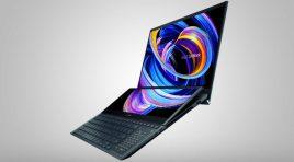 ASUS presenta la nueva ZenBook Pro Duo 15 OLED UX582