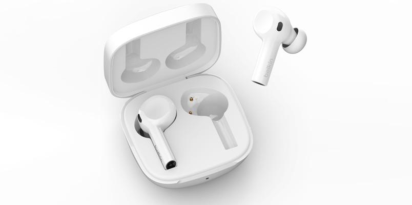 Belkin Soundform Freedom True Wireless Earbuds blancos