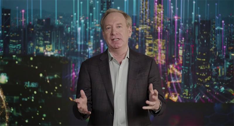 CES Microsoft Brad Smith