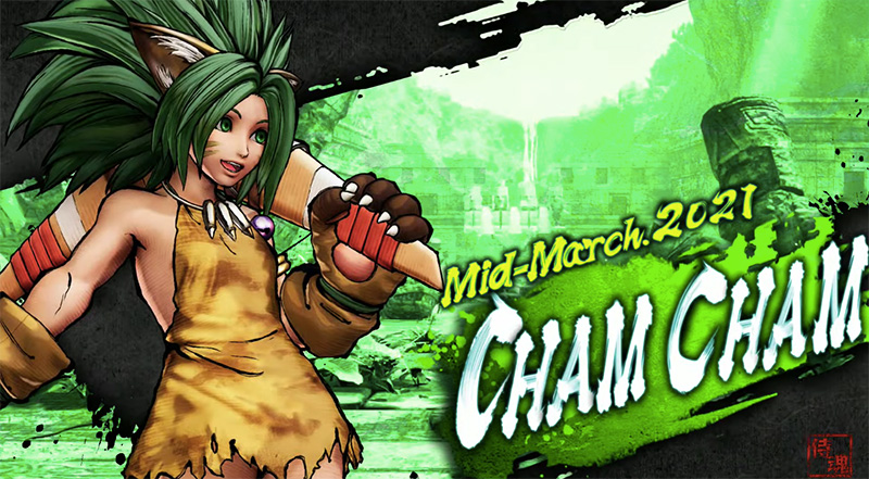 CHAM CHAM S3 Samurai Shodown