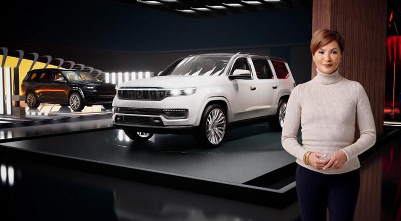 FCA tendrá el Jeep Grand Wagoneer Concept en CES 2021
