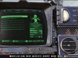 Fallout 76 Pip-Boy actualizacion