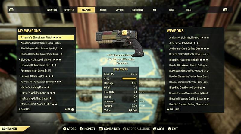 Fallout 76 Stash