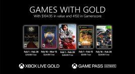 Gears 5 y Resident Evil en los Games with Gold de febrero 2021