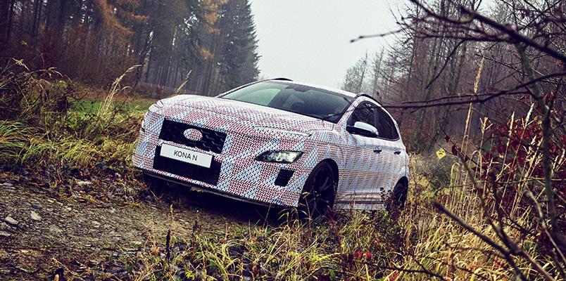 Hyundai KONA N se confirma como el primer SUV de la gama N