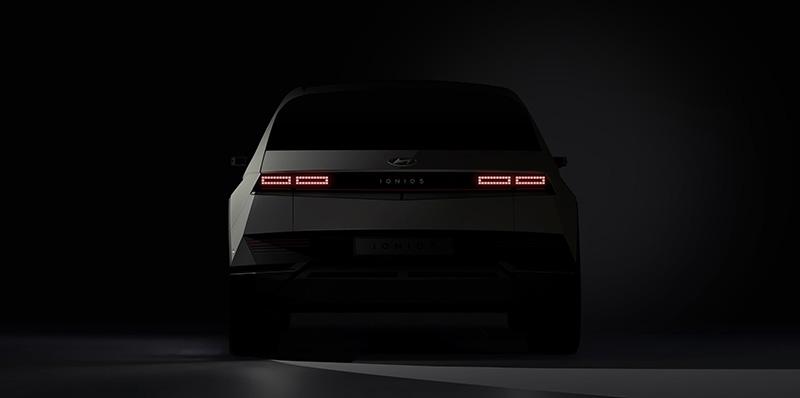 Hyundai Motor Company IONIQ 5 teaser trasera