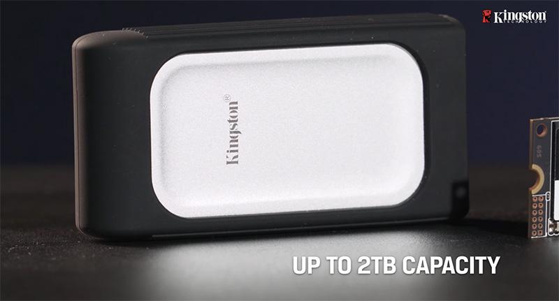 Kingston SSD NVMe CES 2021 XS2000