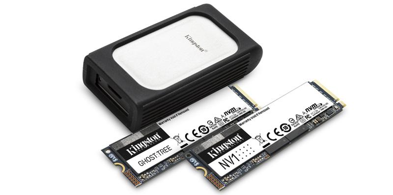 Kingston presenta la nueva generación de SSD NVMe en CES 2021