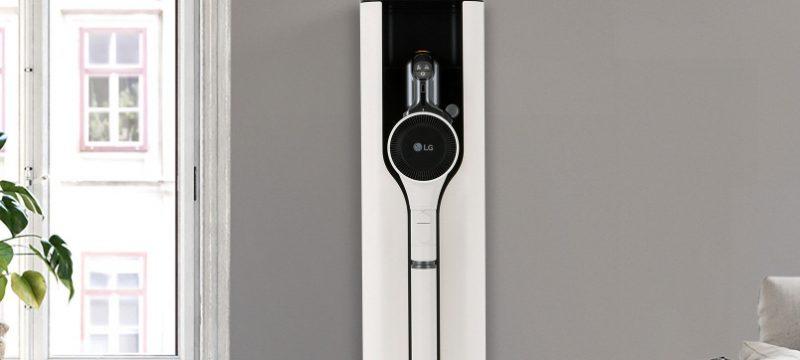 LG CordZeroThinQ A9 Kompressor+ acercamiento