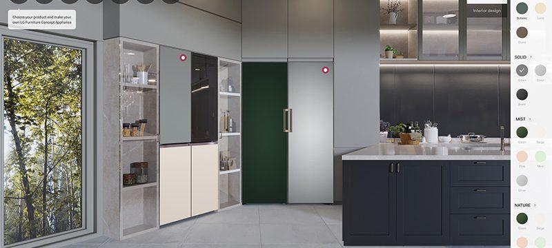 electrodomesticos LG Furniture Concept Appliances CES 2021