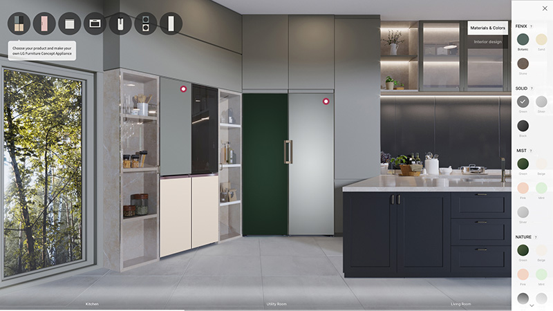 Los electrodomésticos de LG se personalizan en CES 2021
