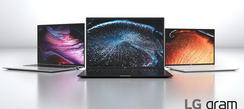 LG Gram 2021 CES 2021 virtual