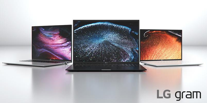 LG presenta sus nuevas laptops ultraligeras LG Gram en CES 2021