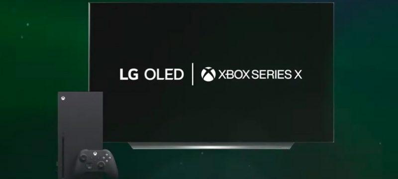 LG OLED Xbox Series X
