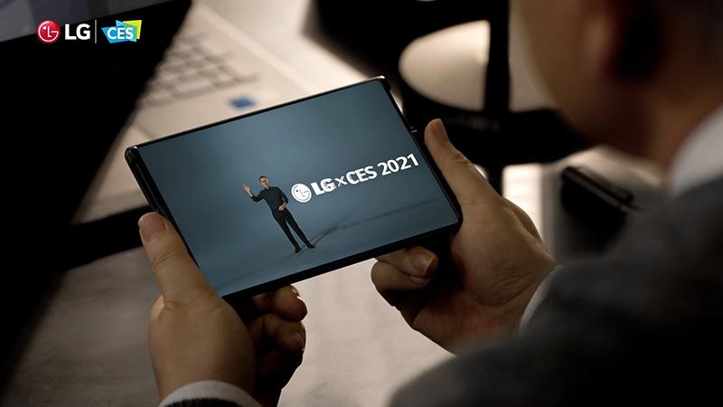 LG Rollable y Reah Keem protagonistas de LG en CES 2021