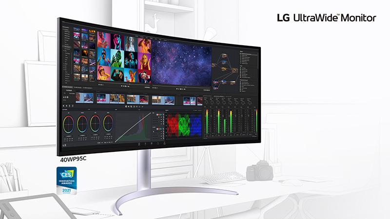 LG UltraWide 40WP95C con resolución 5K2K UltraWide