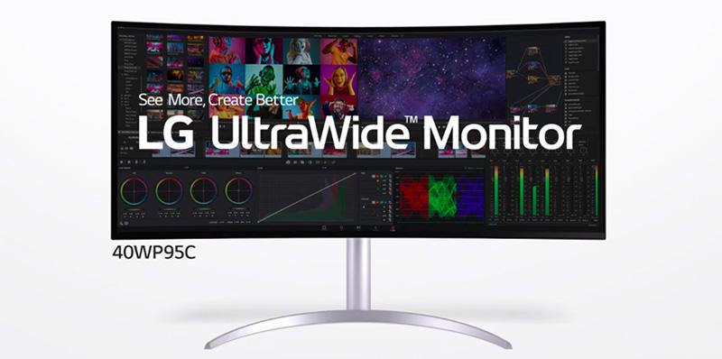 LG UltraWide 40WP95C