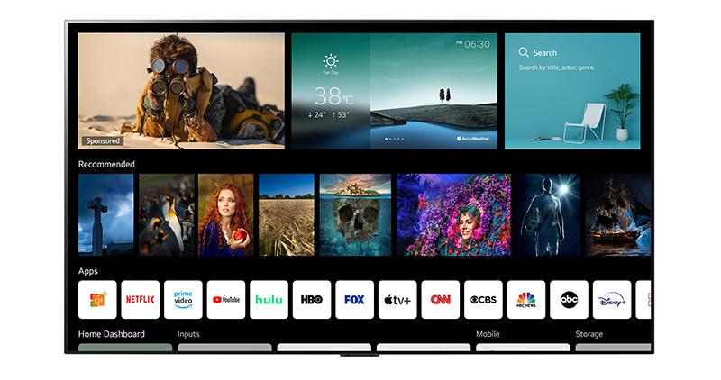 webOS 6.0 estará disponible en estos televisores de LG
