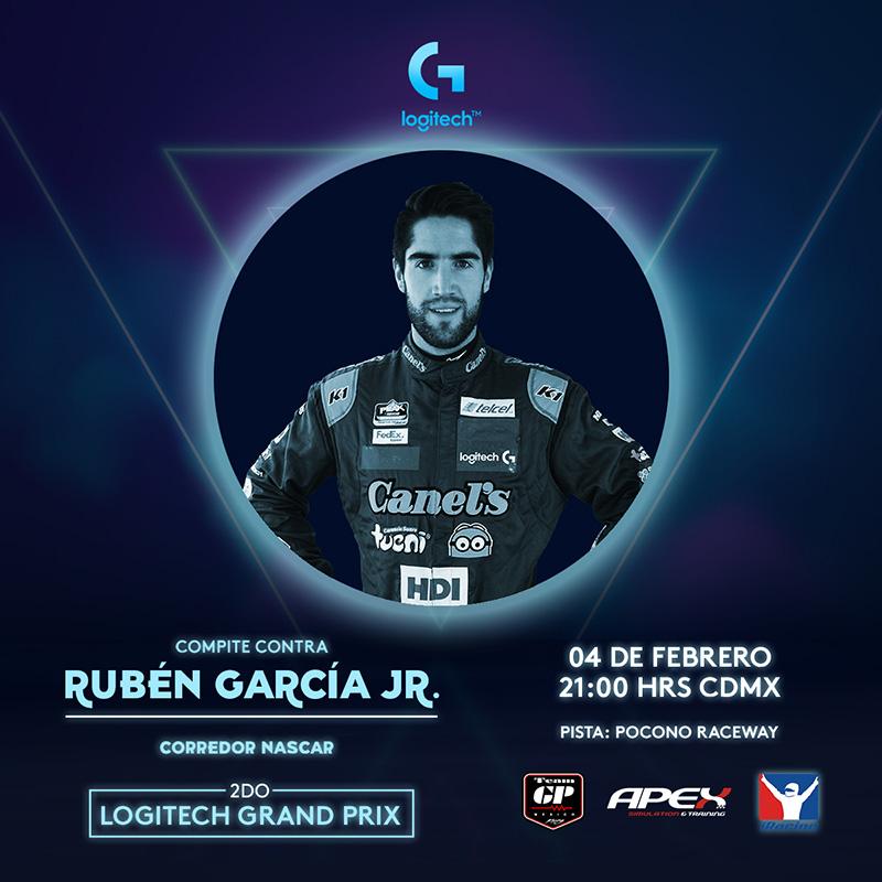 Logitech Grand Prix Carrera Ruben Garcia Jr