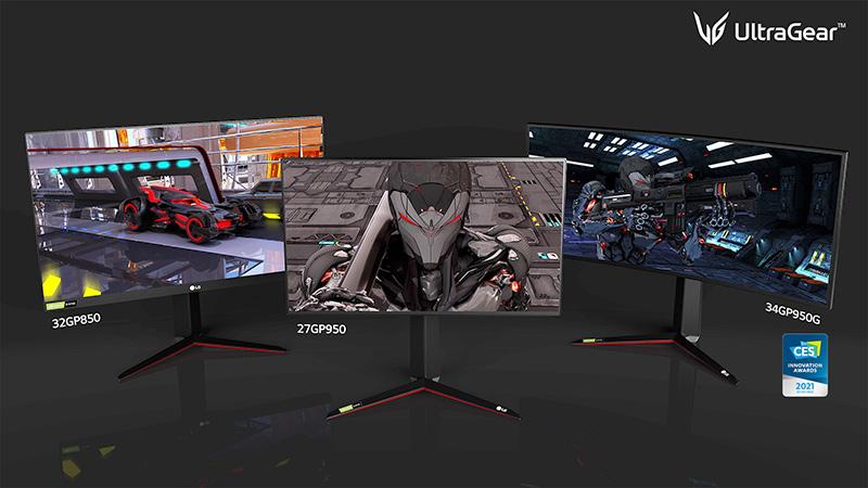 Los nuevos LG UltraGear 2021: 27GP950, 32GP850, 34GP950G