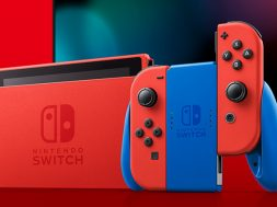 Nintendo Switch Mario Red & Blue Edition